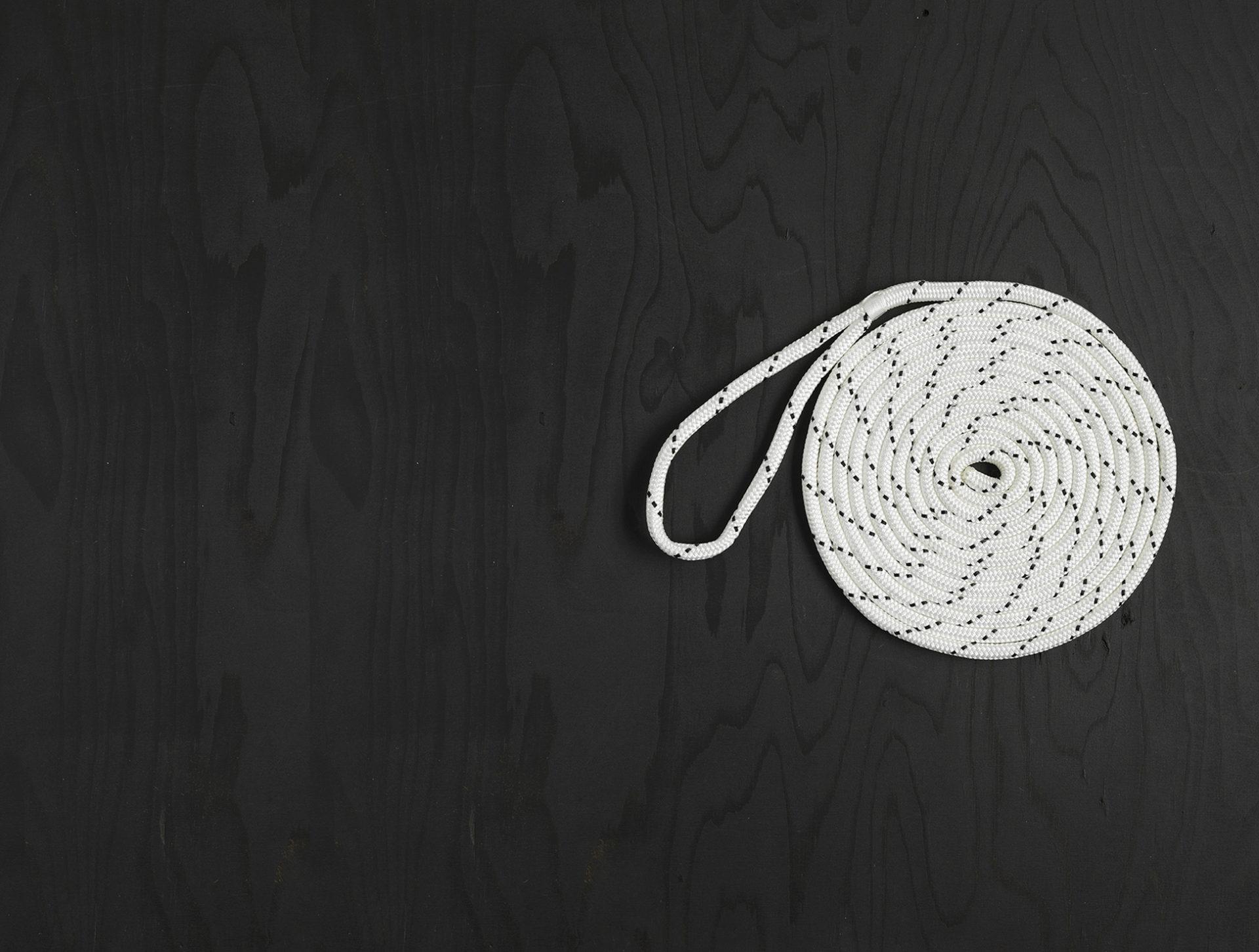Bild representerar inriktningen däck med ankarlina